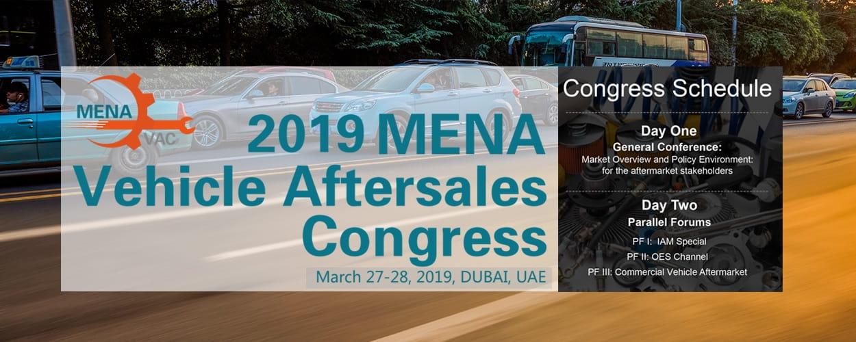 2019 MENA Vehicle Aftersales Congress