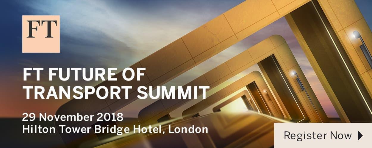 FT Future of Transport Summit