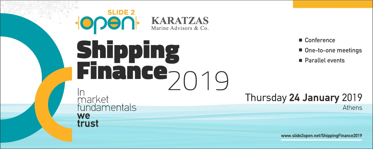 Slide2Open Shipping Finance 2019 Conference
