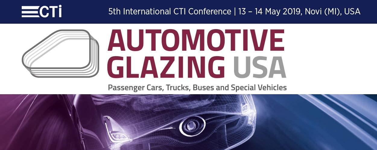 5th International CTI Conference Automotive Glazing USA