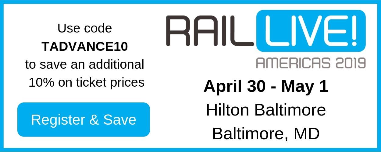 RAIL Live! Americas 2019