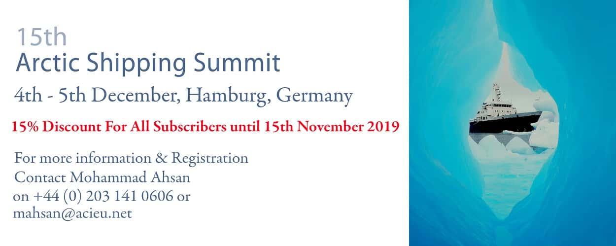 15th Arctic Shipping Summit