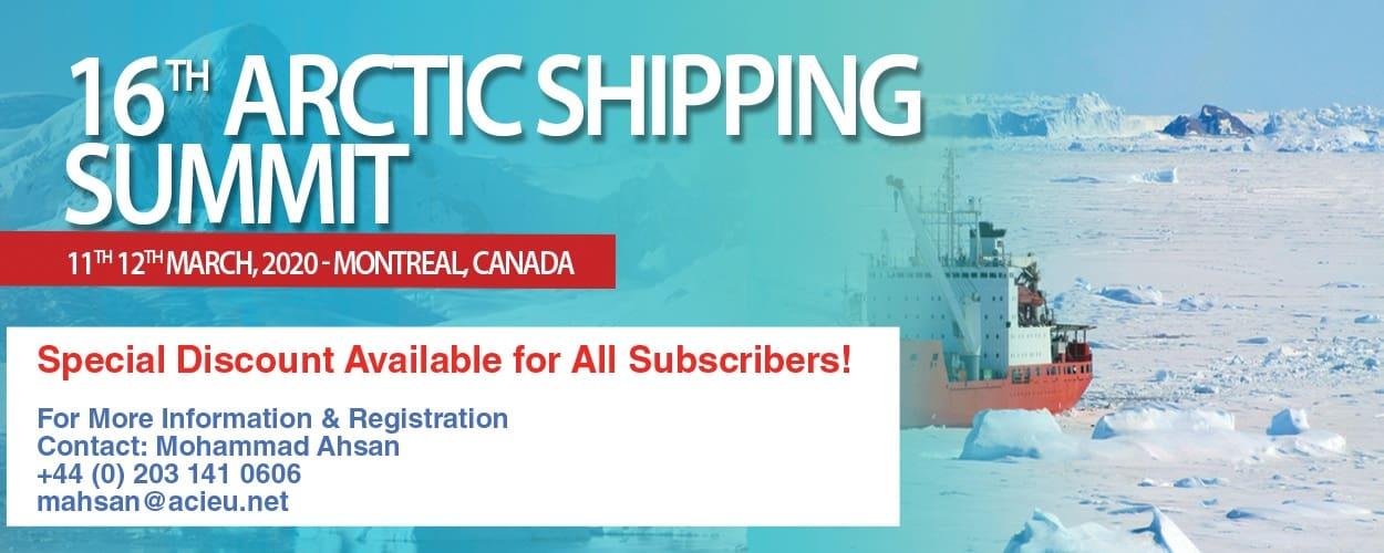 16 th Arctic Shipping Summit